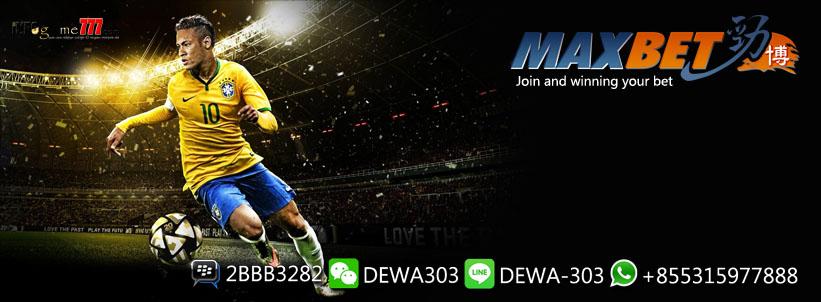 MAXBET Judi Bola Online - Bandar Taruhan Sportsbook Terpercaya - www.dewa303.id